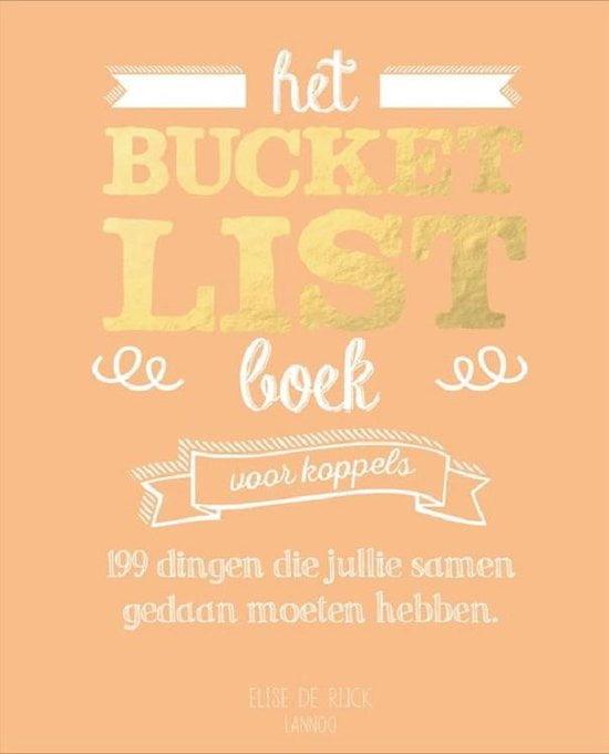 Boeken voor mannen; Het bucket list boek voor koppels; 250 gekke, leuke, grappige en serieuze opdrachten en tips om samen te doen.