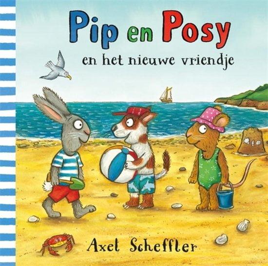 Pip en Posy en het nieuwe vriendje; Prentenboek voor peuters en kleuters over vriendschap, jaloezie en delen