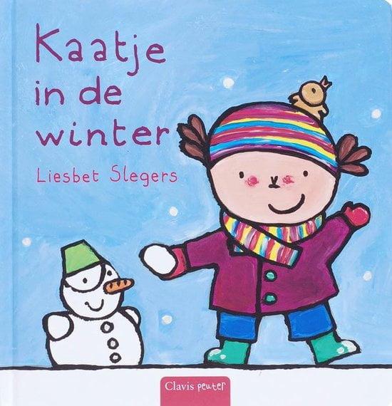 Kaatje in de winter door Liesbet Slegers; Winters boek over spelen in de sneeuw